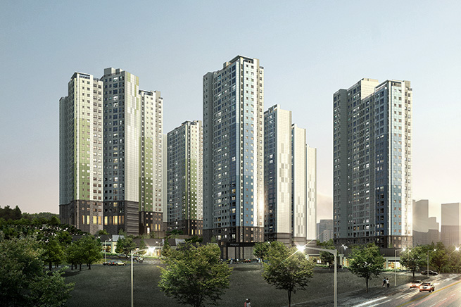 Hwaseong Bondam communal residential building development project 이미지
