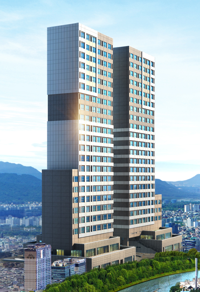 Seokchon-dong office building (officetel) and public welfare infrastructure 이미지